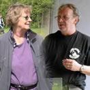 Arjen van Alphen en Francien Koeman