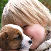 Pup en kind